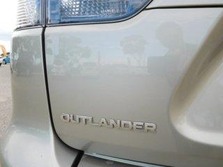 2009 Mitsubishi Outlander ZG MY09 Activ Gold 6 Speed Constant Variable Wagon