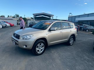 2008 Toyota RAV4 ACA33R MY08 CV Gold 5 Speed Manual Wagon.