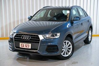 2017 Audi Q3 8U MY18 TFSI S Tronic Blue 6 Speed Sports Automatic Dual Clutch Wagon.