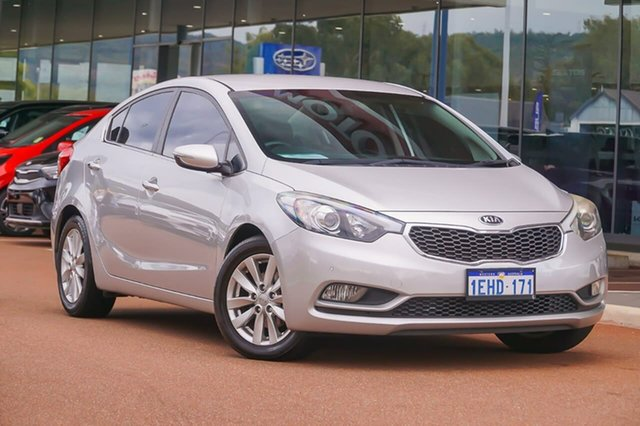 Used Kia Cerato YD MY13 SI Gosnells, 2013 Kia Cerato YD MY13 SI Silver 6 Speed Sports Automatic Sedan