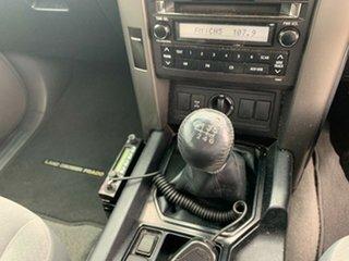 2010 Toyota Landcruiser Prado KDJ150R GXL Blue 6 Speed Manual Wagon