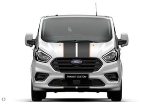 2021 Ford Transit Custom VN 2021.25MY 320S (Low Roof) Sport White 6 Speed Automatic Van.