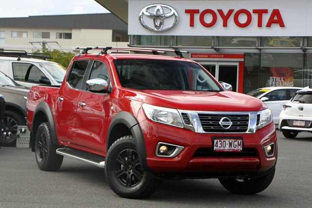 Pre-Owned Nissan Navara D23 RX Upper Mount Gravatt, 2015 Nissan Navara D23 RX Red 7 Speed Sports Automatic Utility