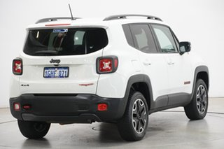 2015 Jeep Renegade BU MY15 Trailhawk AWD Alpine White 9 Speed Sports Automatic Hatchback