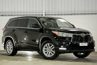 2015 Toyota Kluger GSU50R GX 2WD Black 6 Speed Sports Automatic Wagon.