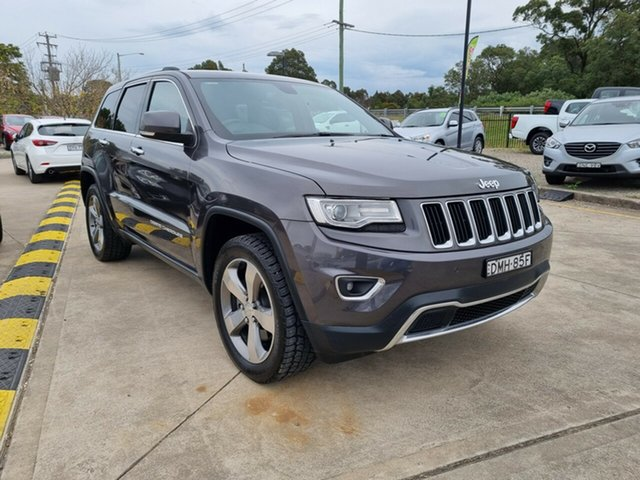 Used Jeep Grand Cherokee WK MY15 Limited Glendale, 2015 Jeep Grand Cherokee WK MY15 Limited Grey 8 Speed Sports Automatic Wagon