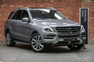 2012 Mercedes-Benz M-Class W166 ML350 BlueTEC 7G-Tronic + Palladium 7 Speed Sports Automatic Wagon.