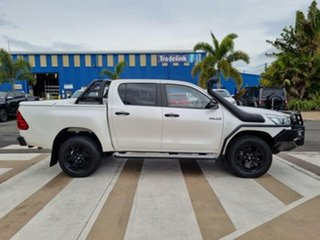 2018 Toyota Hilux GUN126R Rogue Double Cab Crystal Pearl 6 Speed Sports Automatic Utility.