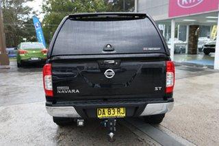 2015 Nissan Navara D23 ST King Cab Black 7 Speed Sports Automatic Utility