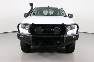 2018 Ford Ranger PX MkII MY18 XL 3.2 (4x4) White 6 Speed Automatic Crew Cab Chassis.