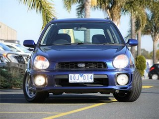2001 Subaru Impreza S RX Blue Automatic Hatchback.