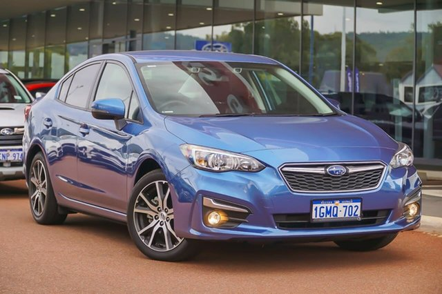 Used Subaru Impreza G5 MY18 2.0i-L CVT AWD Gosnells, 2018 Subaru Impreza G5 MY18 2.0i-L CVT AWD Blue 7 Speed Constant Variable Sedan