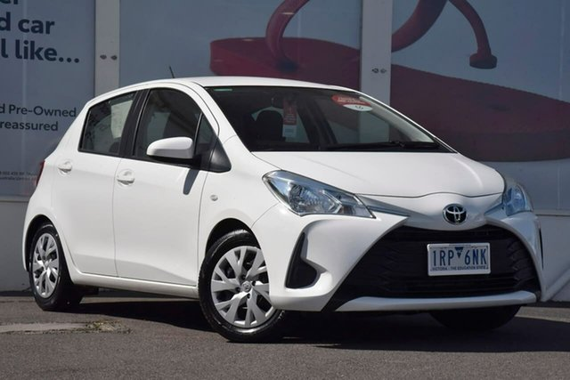Pre-Owned Toyota Yaris NCP130R MY18 Ascent Ferntree Gully, Yaris Ascent 1.3L Petrol Automatic 5 Door Hatch