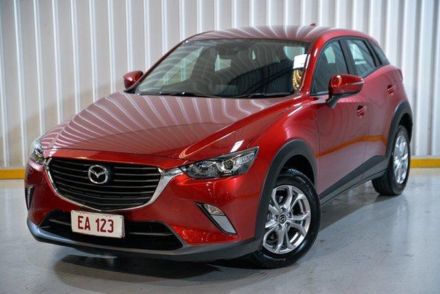 Used Mazda CX-3 DK4W7A Maxx SKYACTIV-Drive i-ACTIV AWD Hendra, 2018 Mazda CX-3 DK4W7A Maxx SKYACTIV-Drive i-ACTIV AWD Red/Black 6 Speed Sports Automatic Wagon