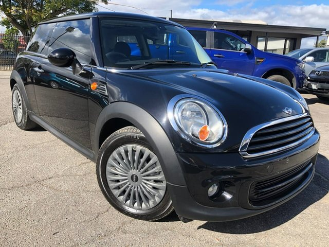 Used Mini Hatch R56 LCI Cooper Hillcrest, 2013 Mini Hatch R56 LCI Cooper Black 6 Speed Manual Hatchback