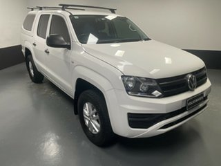 2017 Volkswagen Amarok 2H MY18 TDI400 4MOT Core Candy White 6 Speed Manual Utility