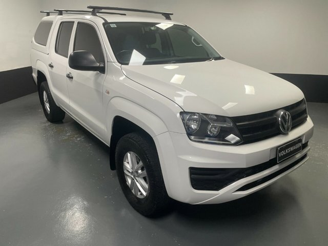 Used Volkswagen Amarok 2H MY18 TDI400 4MOT Core Cardiff, 2017 Volkswagen Amarok 2H MY18 TDI400 4MOT Core Candy White 6 Speed Manual Utility