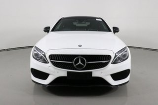 2016 Mercedes-AMG C43 C White 9 Speed Automatic G-Tronic Coupe.