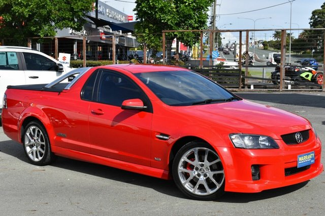 Used Holden Commodore VE MY09.5 SS-V Underwood, 2008 Holden Commodore VE MY09.5 SS-V Red 6 Speed Manual Utility