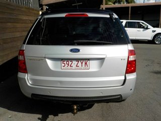 2007 Ford Territory SY TS Silver 4 Speed Sports Automatic Wagon