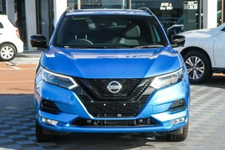 2021 Nissan Qashqai J11 Series 3 MY20 Midnight Edition X-tronic Vivid Blue 1 Speed Constant Variable.