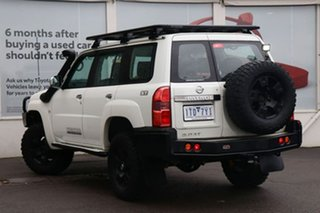 2012 Nissan Patrol Y61 GU 8 ST White 5 Speed Manual Wagon.