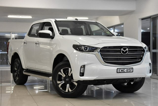Demo Mazda BT-50 TFS40J XTR Waitara, 2020 Mazda BT-50 TFS40J XTR White 6 Speed Sports Automatic Utility