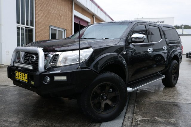 Used Nissan Navara D23 ST King Cab Narrabeen, 2015 Nissan Navara D23 ST King Cab Black 7 Speed Sports Automatic Utility