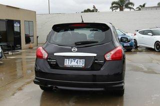 2013 Nissan Pulsar C12 SSS Black 1 Speed Constant Variable Hatchback