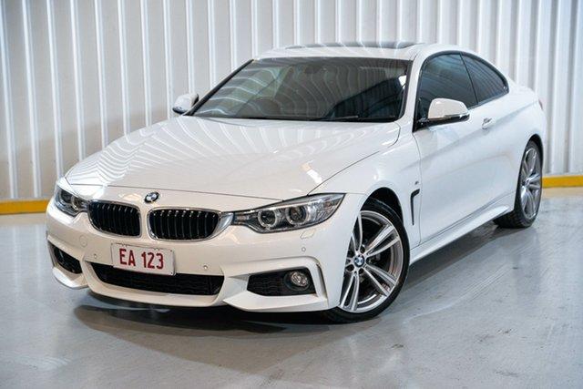 Used BMW 4 Series F32 428i M Sport Hendra, 2014 BMW 4 Series F32 428i M Sport White 8 Speed Sports Automatic Coupe