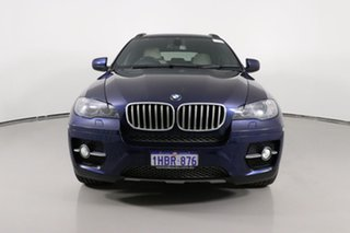 2011 BMW X6 E71 MY11 xDrive40d Blue 8 Speed Automatic Coupe.