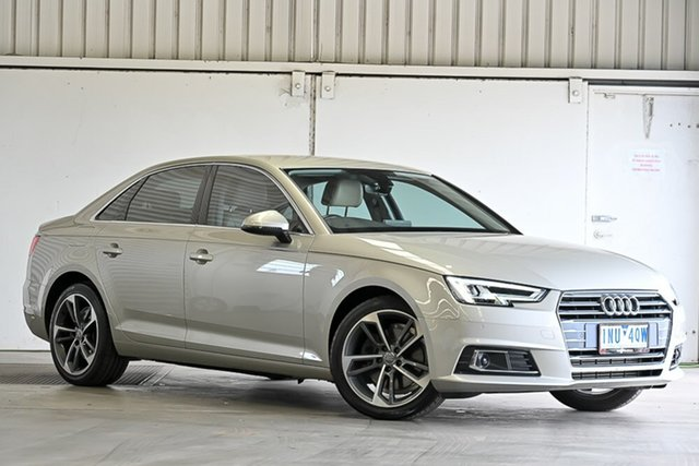 Used Audi A4 B9 8W MY17 Sport S Tronic Quattro Laverton North, 2017 Audi A4 B9 8W MY17 Sport S Tronic Quattro Silver 7 Speed Sports Automatic Dual Clutch Sedan