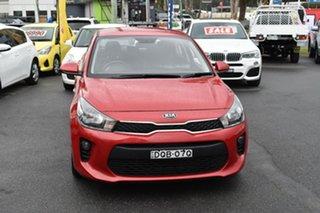 2017 Kia Rio YB MY17 S Red 4 Speed Sports Automatic Hatchback.