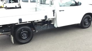2020 Toyota Hilux TGN121R Workmate 4x2 White 6 Speed Sports Automatic Cab Chassis