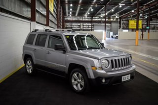 2016 Jeep Patriot MK MY16 Limited Silver 6 Speed Sports Automatic Wagon