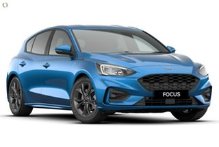 2021 Ford Focus SA 2021MY ST-Line Blue 8 Speed Automatic Hatchback.