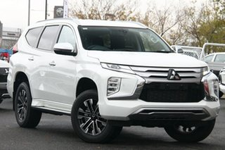 2019 Mitsubishi Pajero Sport QF MY20 Exceed White 8 Speed Sports Automatic Wagon.