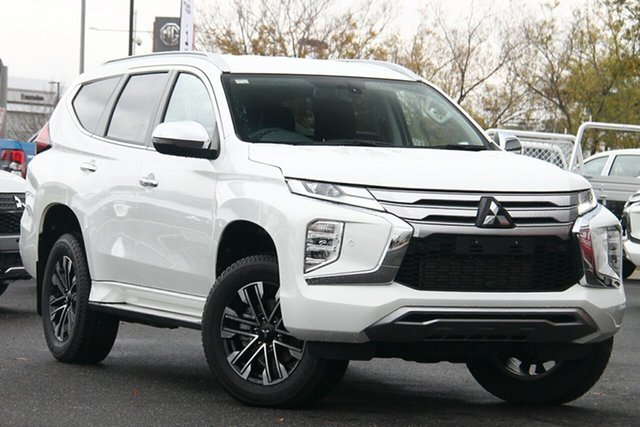 Used Mitsubishi Pajero Sport QF MY20 Exceed Essendon North, 2019 Mitsubishi Pajero Sport QF MY20 Exceed White 8 Speed Sports Automatic Wagon