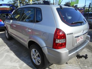 2008 Hyundai Tucson JM MY07 City SX Silver 4 Speed Sports Automatic Wagon