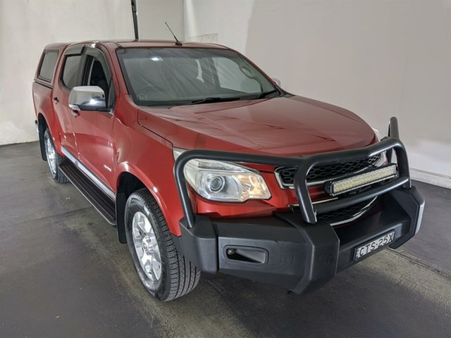 Used Holden Colorado RG MY14 LTZ Crew Cab Maryville, 2014 Holden Colorado RG MY14 LTZ Crew Cab Red 6 Speed Sports Automatic Utility