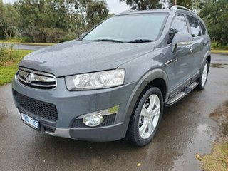 2011 Holden Captiva CG Series II 7 LX Grey Sports Automatic Wagon.