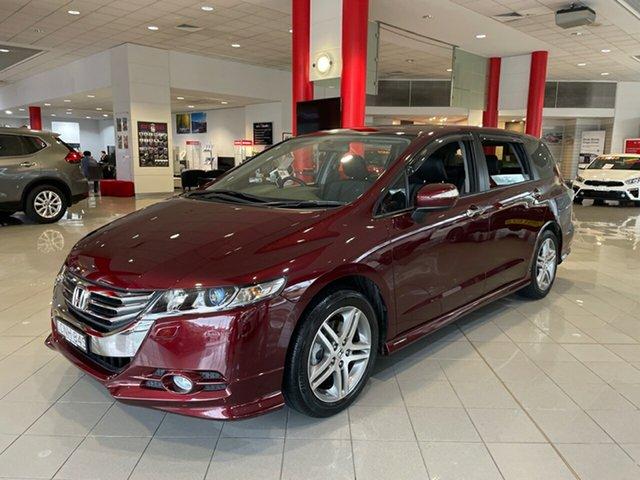 Used Honda Odyssey 4th Gen MY13 Luxury Artarmon, 2013 Honda Odyssey 4th Gen MY13 Luxury Red 5 Speed Sports Automatic Wagon