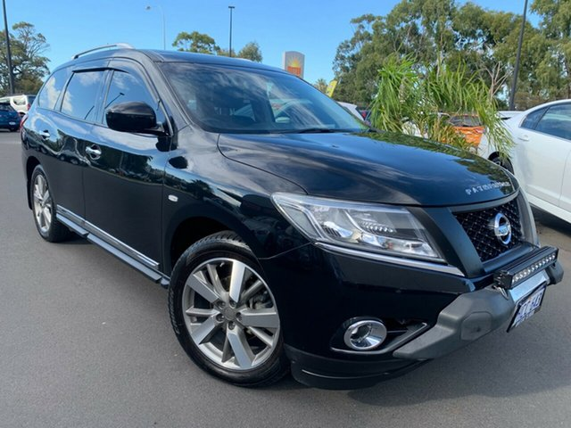 Used Nissan Pathfinder R52 Series II MY17 Ti X-tronic 2WD Bunbury, 2016 Nissan Pathfinder R52 Series II MY17 Ti X-tronic 2WD Black 1 Speed Constant Variable Wagon