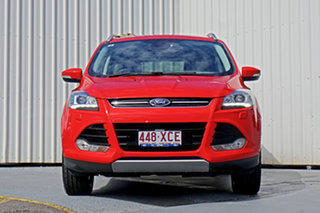 2016 Ford Kuga TF MY16.5 Titanium AWD Red 6 Speed Sports Automatic Wagon.