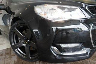 2015 Holden Commodore VF II MY16 SS V Black 6 Speed Manual Sedan.