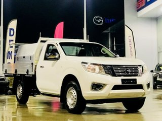 2018 Nissan Navara D23 S3 RX 4x2 White 6 Speed Manual Cab Chassis