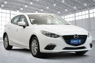 2015 Mazda 3 BM5478 Neo SKYACTIV-Drive Pearl White 6 Speed Sports Automatic Hatchback.