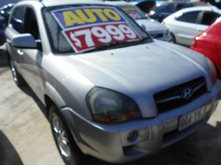 2008 Hyundai Tucson JM MY07 City SX Silver 4 Speed Sports Automatic Wagon.