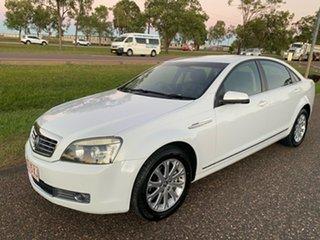 2007 Holden Statesman WM White 5 Speed Sports Automatic Sedan.