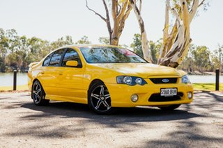 2005 Ford Falcon BF XR6 Yellow 6 Speed Auto Seq Sportshift Sedan